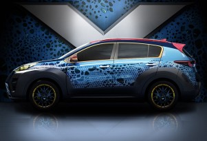 2017 Kia Sportage inspired by 'X-Men: Apocalypse'
