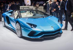 2018 Lamborghini Aventador S Roadster, 2017 Frankfurt Motor Show
