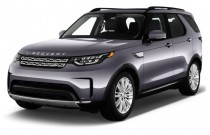 2017 Land Rover Discovery HSE V6 Supercharged Angular Front Exterior View