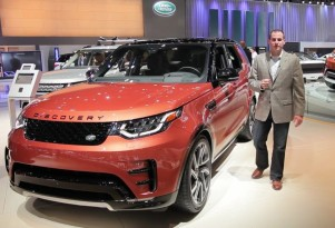2017 Land Rover Discovery, Los Angeles auto show