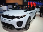 2017 Land Rover Range Rover Evoque Convertible, 2015 Los Angeles Auto Show