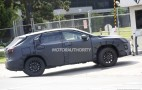 Lexus RX with third-row seats spy shots