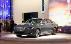 2017 Lincoln MKZ, 2015 Los Angeles Auto Show