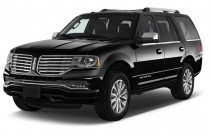 2017 Lincoln Navigator 4x2 Select Angular Front Exterior View
