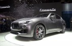 2017 Maserati Levante lands in Geneva: Live photos and video