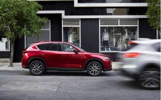 2017 Mazda CX-5 priced from $24,985, which is the same as everyone else