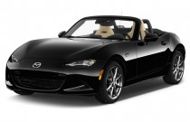 2017 Mazda MX-5 Miata Grand Touring Manual Angular Front Exterior View
