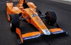 First look at McLaren's new race car for the 2017 Indy 500