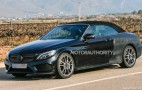 2017 Mercedes-AMG C43 Cabriolet Spy Shots