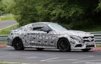 2017 Mercedes-AMG C63 Coupe Spy Shots And Video