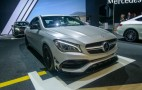 2017 Mercedes-Benz CLA gets updates inside and out: Live photos and video