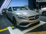 2017 Mercedes-AMG CLA45, 2016 New York Auto Show