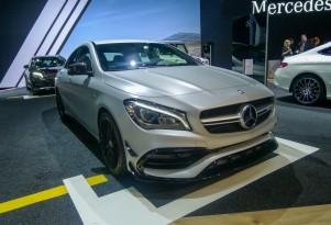 2017 Mercedes-AMG CLA45, 2016 New York Auto Show