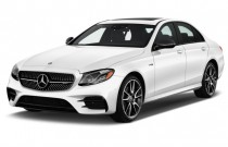 2017 Mercedes-Benz E Class E 300 Luxury 4MATIC Sedan Angular Front Exterior View