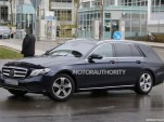 2017 Mercedes-Benz E-Class Wagon spy shots - Image via S. Baldauf/SB-Medien