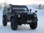 2017 Mercedes-Benz G-Class Light Armored Patrol Vehicle spy shots - Image via S. Baldauf/SB-Medien
