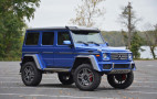 Mercedes-Benz G550 4x4 Squared review: top tax bracket bruiser