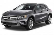 2017 Mercedes-Benz GLA GLA250 SUV Angular Front Exterior View