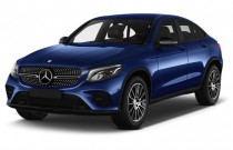 2017 Mercedes-Benz GLC GLC 300 4MATIC Coupe Angular Front Exterior View