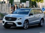 2017 Mercedes-Benz GLS (GL-Class facelift) spy shots - Image via S. Baldauf/SB-Medien