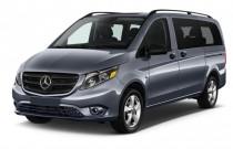 """2017 Mercedes-Benz Metris Passenger Van Standard Roof 126"""" Wheelbase Angular Front Exterior View"""