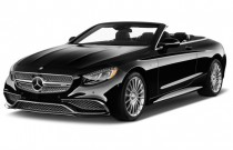 2017 Mercedes-Benz S Class AMG S65 Cabriolet Angular Front Exterior View