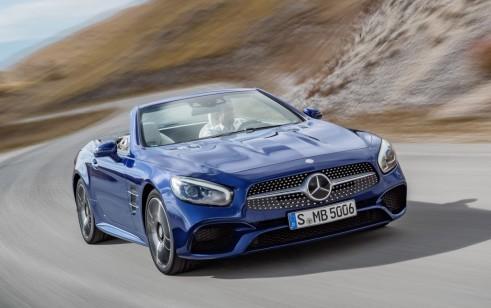 2017 Mercedes-Benz SL Class vs BMW 6-Series, Jaguar F-Type, Porsche ...