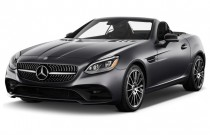 2017 Mercedes-Benz SLC SLC300 Roadster Angular Front Exterior View