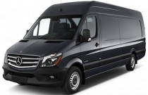 "2017 Mercedes-Benz Sprinter Cargo Van 2500 High Roof V6 170"" RWD Angular Front Exterior View"