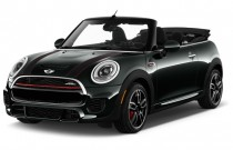 2017 MINI Convertible John Cooper Works FWD Angular Front Exterior View