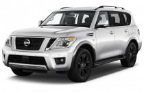 2017 Nissan Armada 4x4 Platinum Angular Front Exterior View