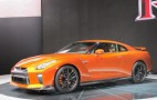 2017 Nissan GT-R gets new look, 565 horsepower: Live photos and video