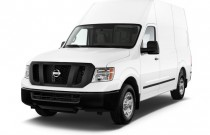 2017 Nissan NV Cargo NV2500 HD High Roof S V8 Angular Front Exterior View