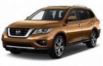 2017 Nissan Pathfinder 4x4 Platinum Angular Front Exterior View