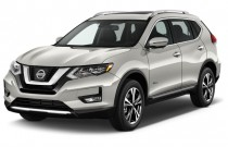 2017 Nissan Rogue FWD SL Hybrid Angular Front Exterior View