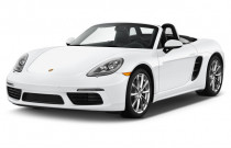 2017 Porsche 718 Boxster Roadster Angular Front Exterior View