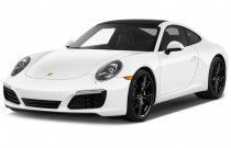 2017 Porsche 911 Carrera Coupe Angular Front Exterior View