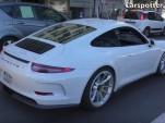 Porsche 911 R caught in Monaco