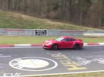 2017 Porsche 911 Carrera GTS at Nürburgring