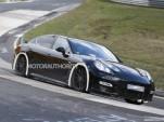 2017 Porsche Panamera test mule spy shots