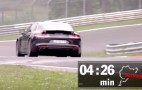 Porsche breaks 'Ring record with new Panamera