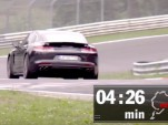 2017 Porsche Panamera Turbo on the 'Ring