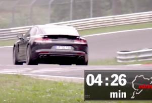 2017 Porsche Panamera Turbo on the 'Ring