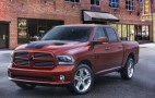 Two special edition Ram pickup trucks roll into the Windy City