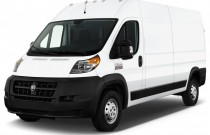"2017 Ram ProMaster Cargo Van 2500 High Roof 136"" WB Angular Front Exterior View"