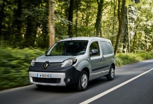 Renault Kangoo ZE small electric van now on sale with longer range