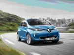 2017 Renault Zoe electric car: larger battery doubles range