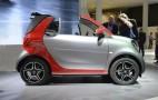 2017 Smart ForTwo Cabrio debuts at 2015 Frankfurt auto show