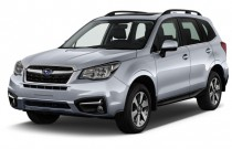 2017 Subaru Forester 2.5i Limited CVT Angular Front Exterior View