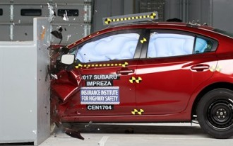 2017 Subaru Impreza nabs IIHS Top Safety Pick+ award